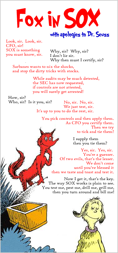 fox in sox  a sarbanes